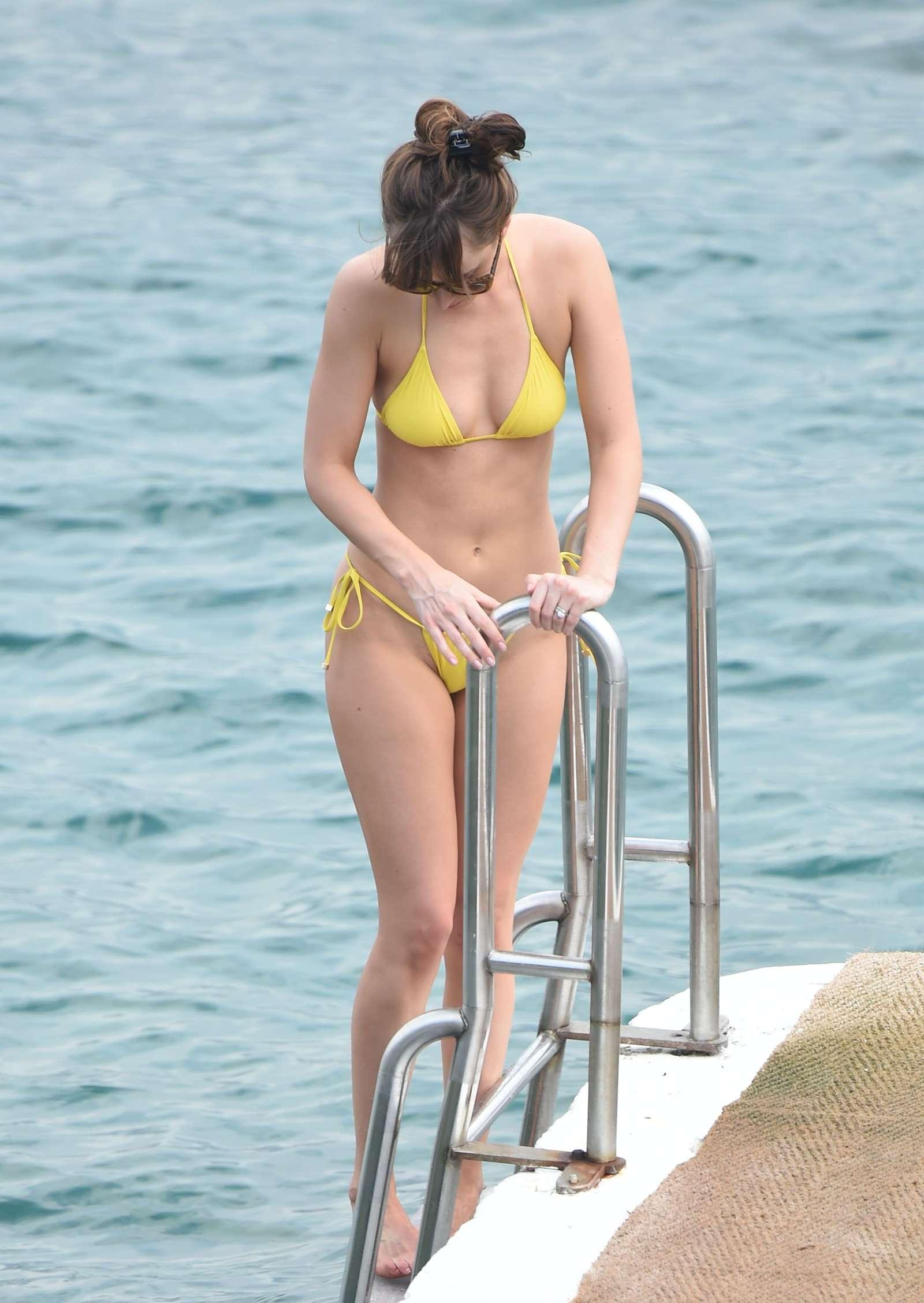 Dakota Johnson 2016 : Dakota Johnson in Yellow Bikini 2016 -31