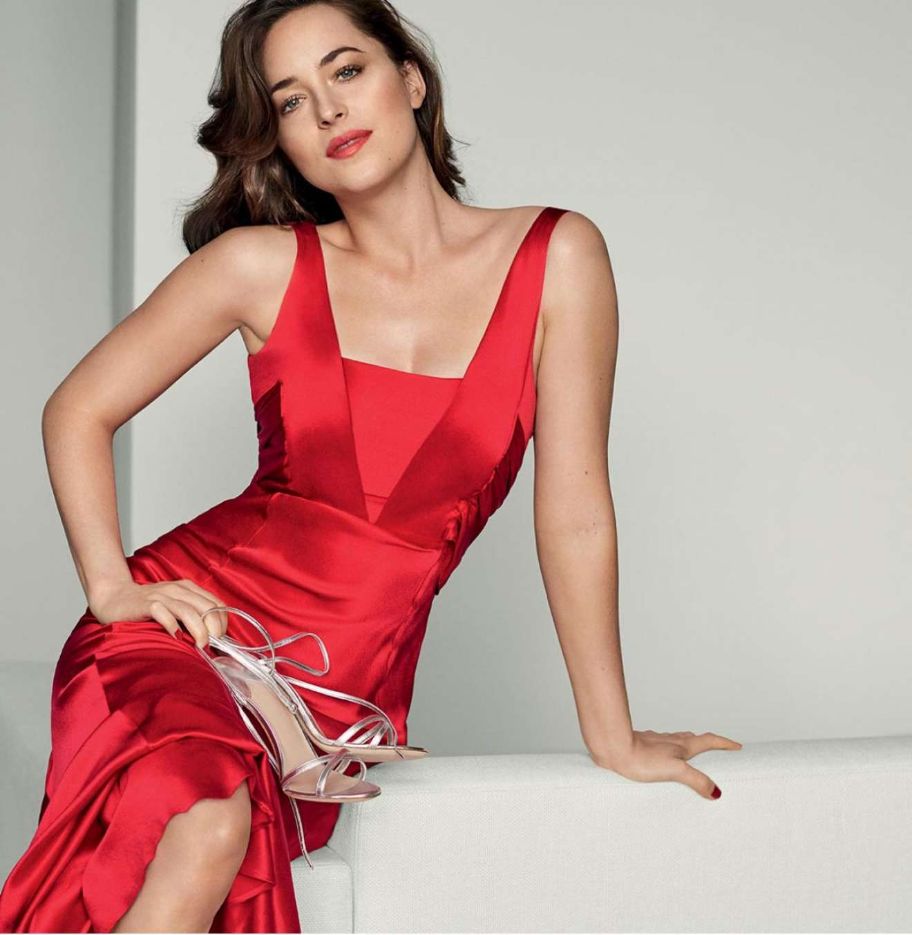 Dakota Johnson - Inside and Out by Intimissimi 2017 Campaign