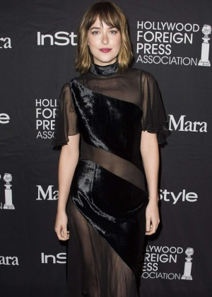 Dakota Johnson - InStyle and HFPA Party 2015 in Toronto