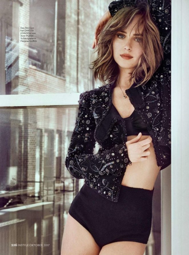 Dakota Johnson – Instyle Magazine (Germany – October 2017 issue)