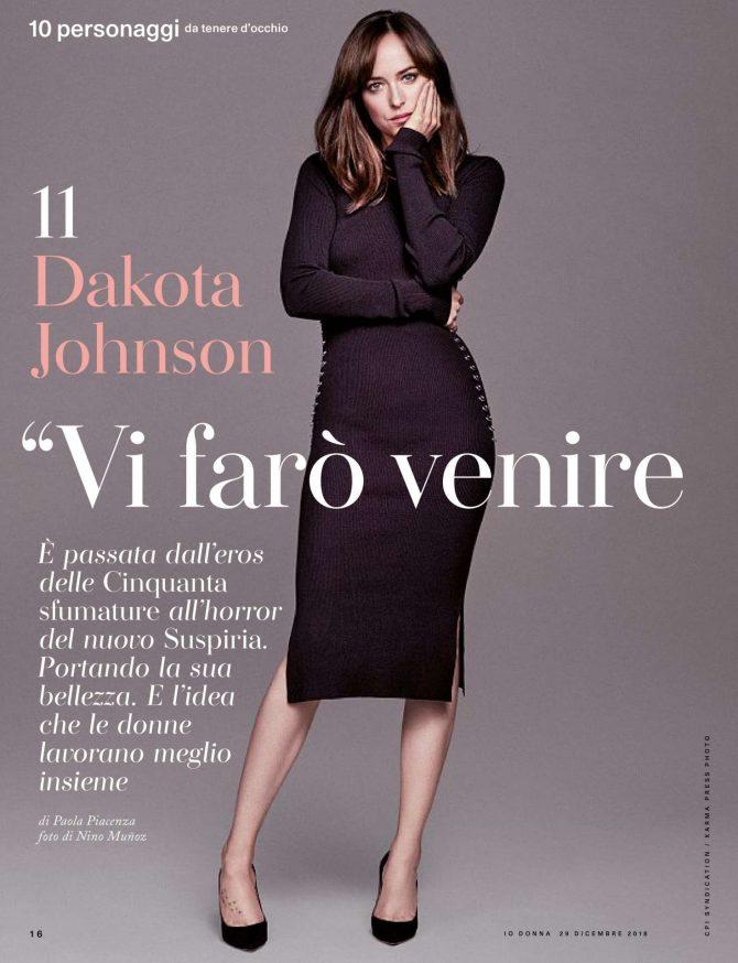 Dakota Johnson – iO Donna del Corriere della Sera (December 2018)