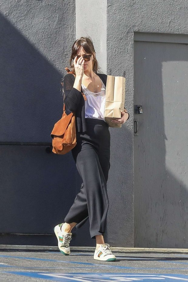 Dakota Johnson - Leaves book soup in West Hollywood