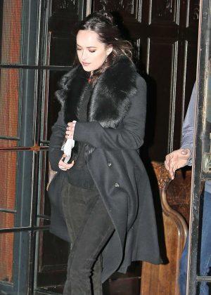 Dakota Johnson - Leaves her hotel in New York City