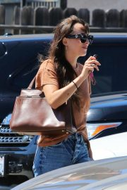 Dakota Johnson - Leaves nail salon in Los Angeles