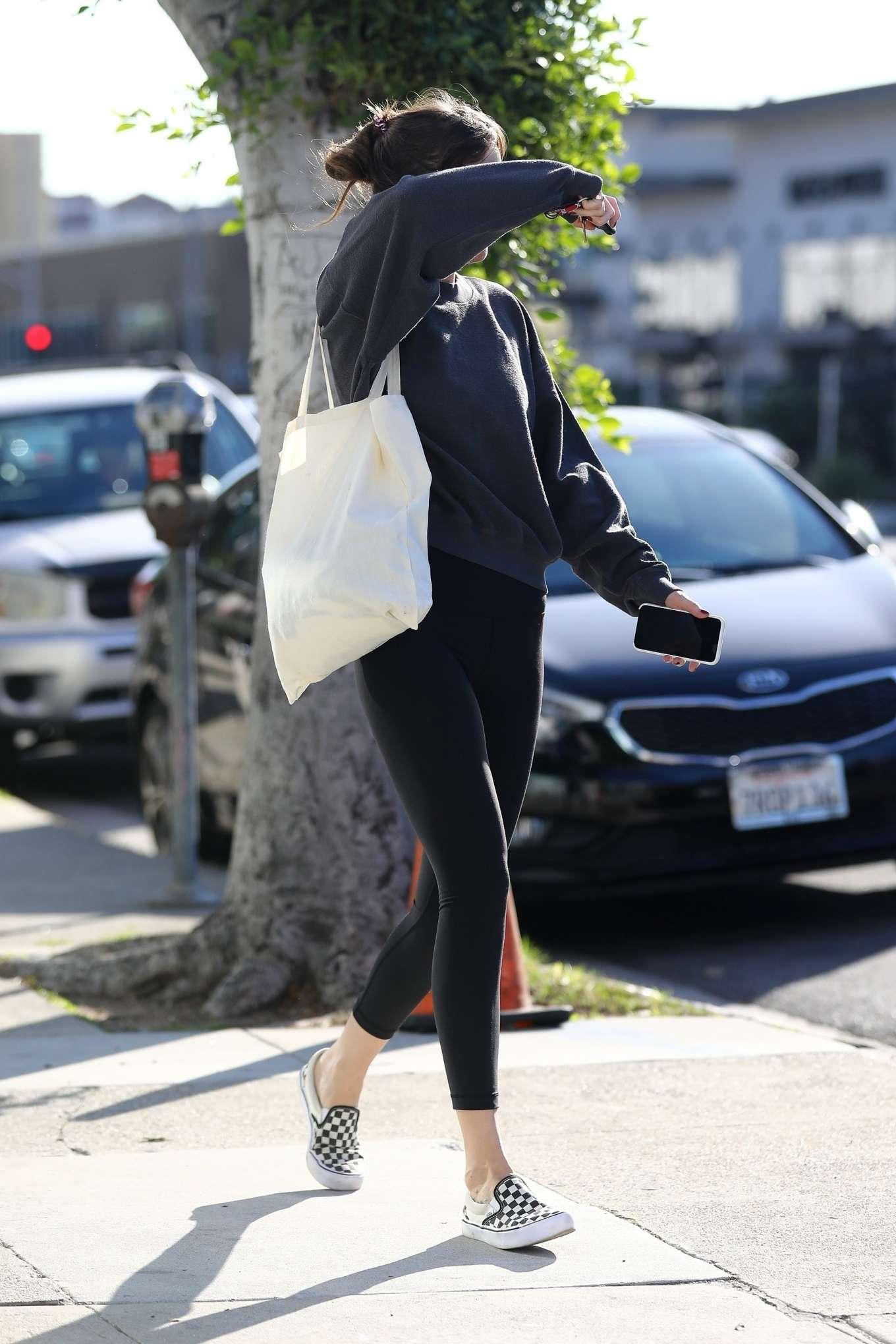 Dakota Johnson 2020 : Dakota Johnson – Leaves the gym in Los Angeles-01
