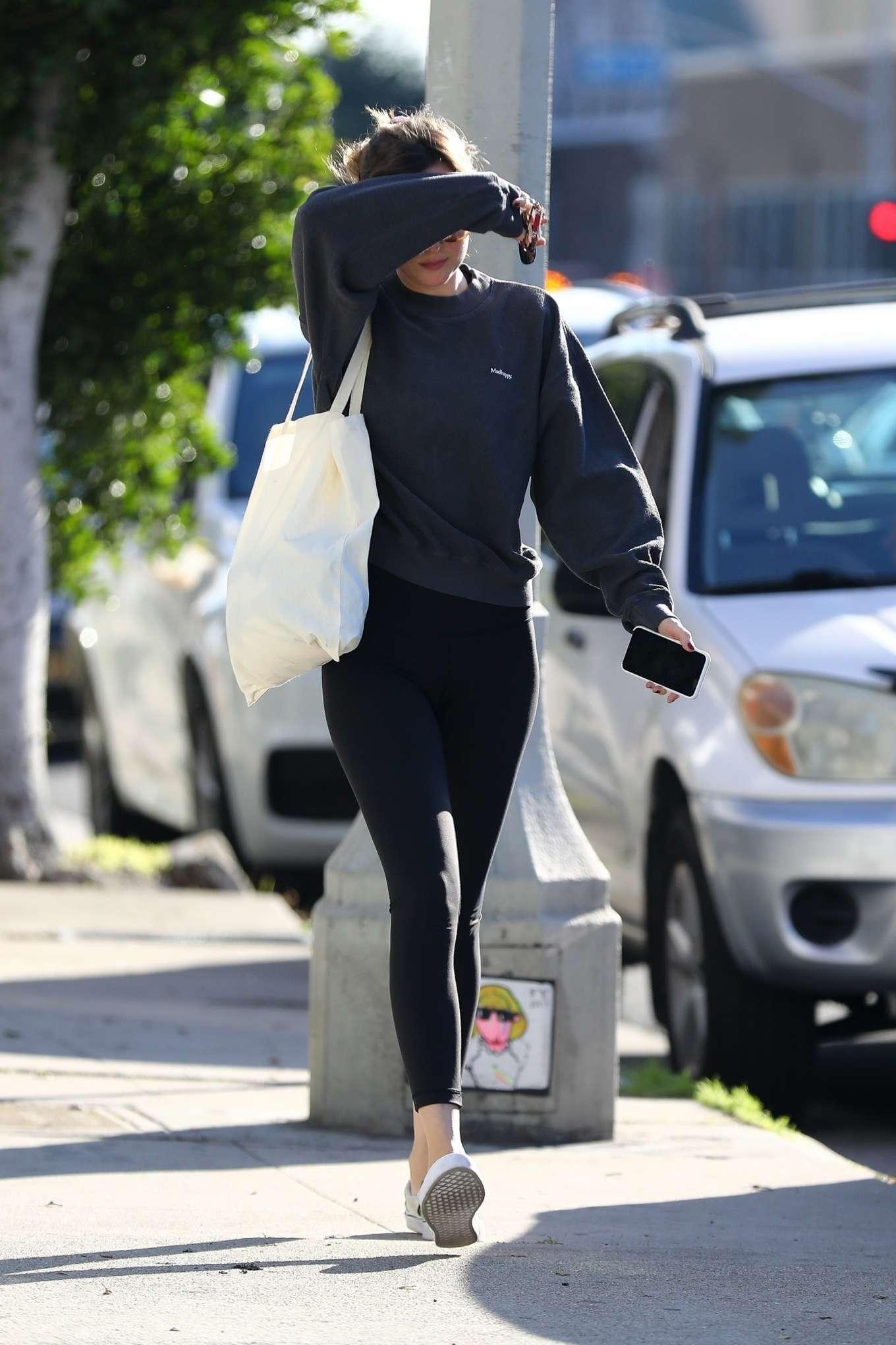 Dakota Johnson 2020 : Dakota Johnson – Leaves the gym in Los Angeles-05