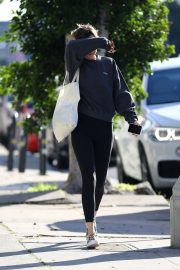 Dakota Johnson - Leaves the gym in Los Angeles