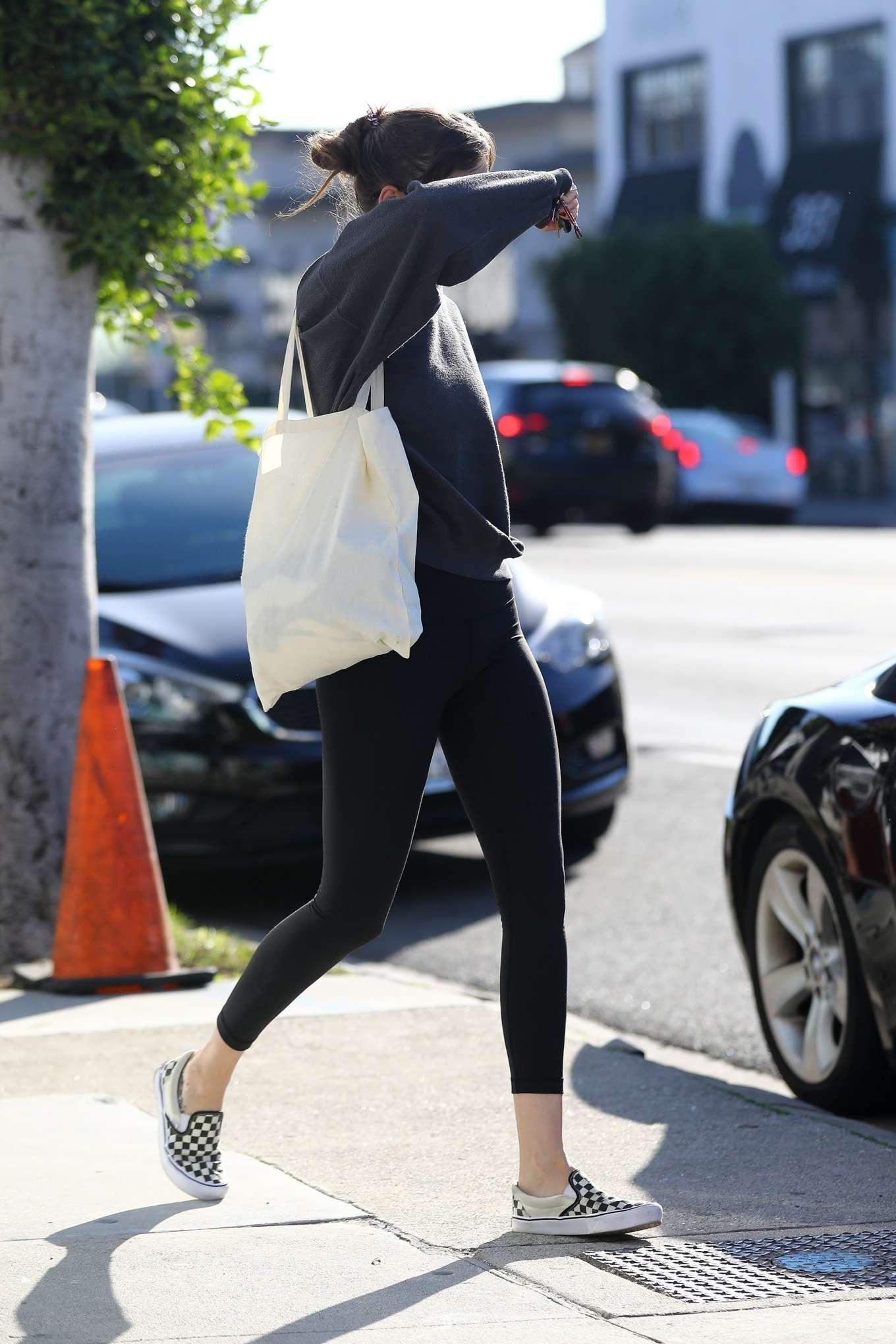 Dakota Johnson 2020 : Dakota Johnson – Leaves the gym in Los Angeles-10
