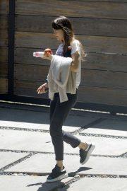 Dakota Johnson - Leaving her house in Los Angeles