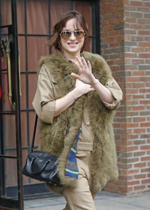 Dakota Johnson - Leaving the Bowery Hotel in New York City