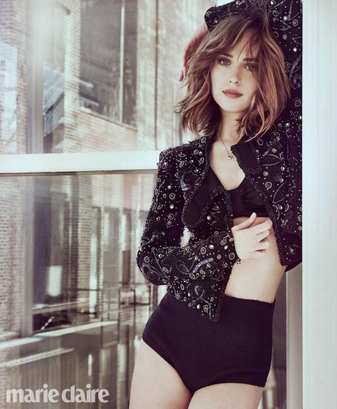 Dakota Johnson - Marie Claire Magazine (March 2016)