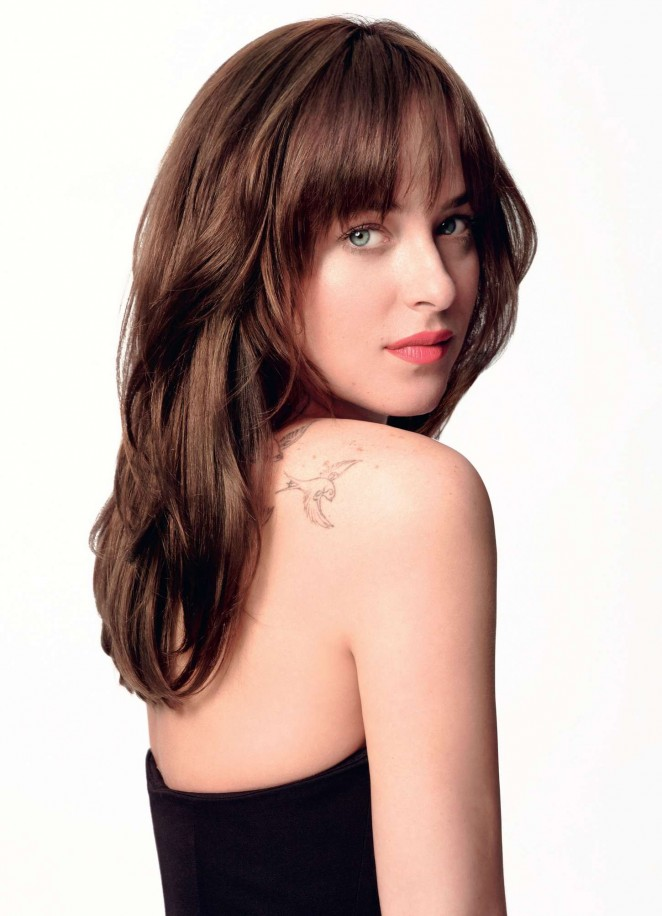 Dakota Johnson - Now Magazine 2015