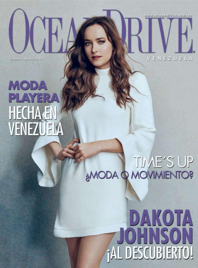 Dakota Johnson - Ocean Drive Venezuela (February/March 2018)