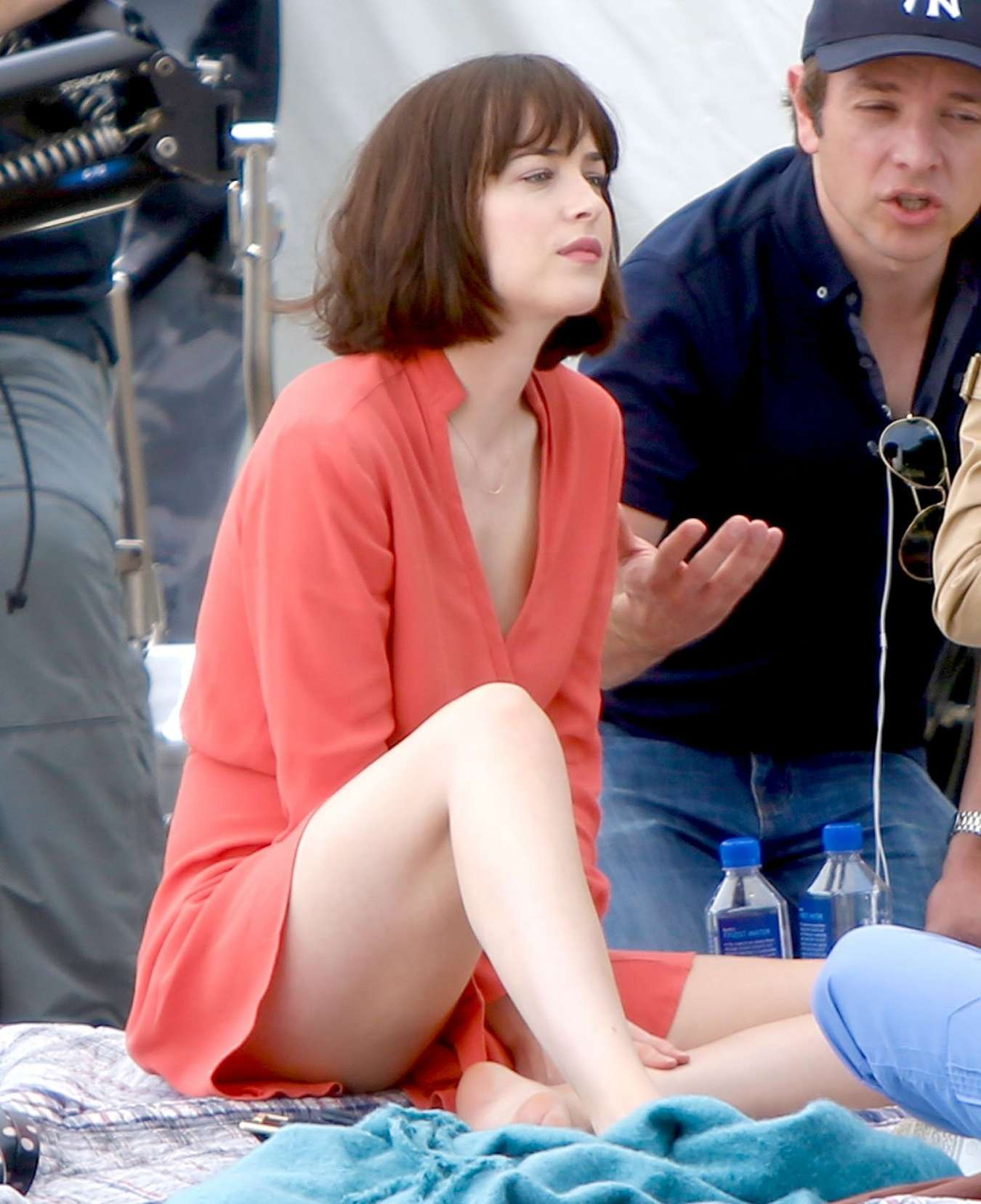 Dakota johnson in red dress on how to be single set 06 gotceleb dakota johnson in red dress on how to be single set 06 full size ccuart Choice Image