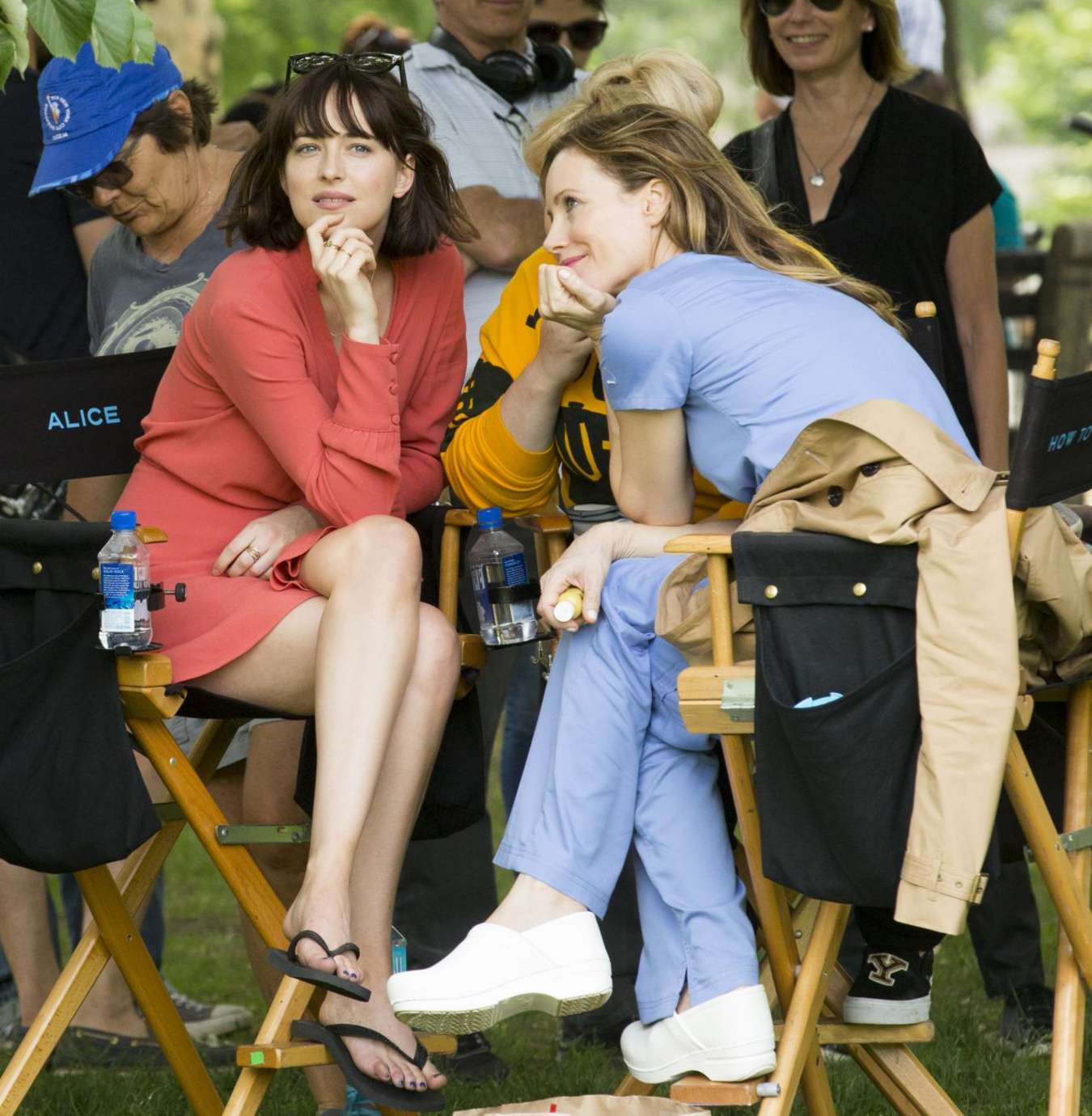 Dakota johnson in red dress on how to be single set 23 gotceleb dakota johnson in red dress on how to be single set 23 ccuart Choice Image