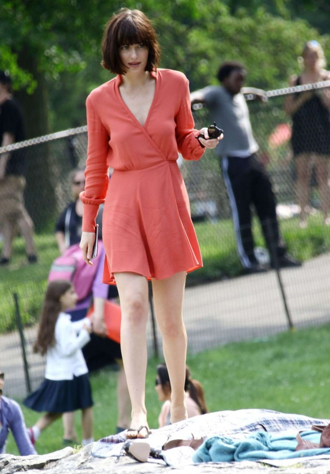 Dakota johnson in red dress on how to be single set 30 gotceleb dakota johnson in red dress on how to be single set 30 ccuart Choice Image
