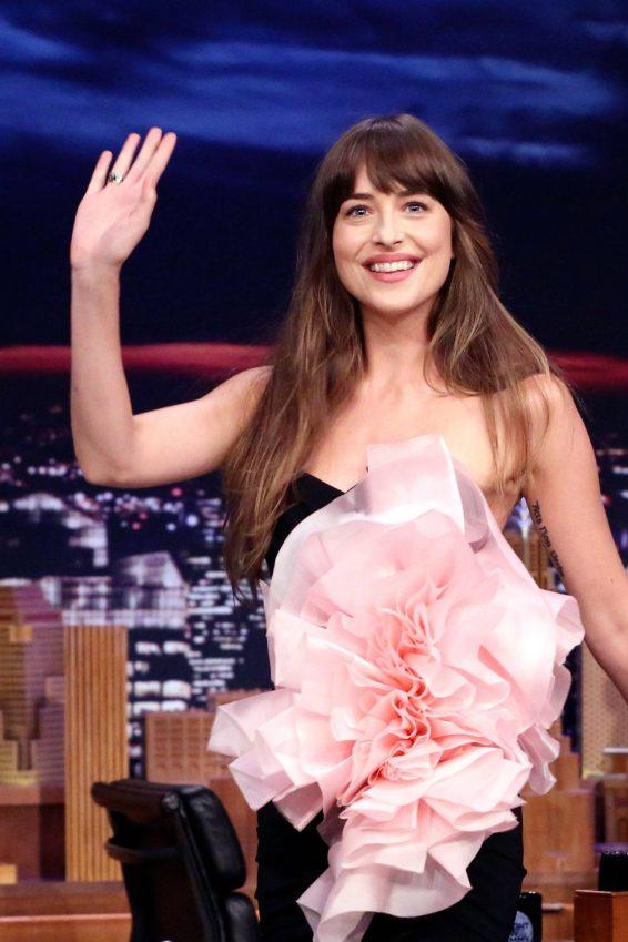 Dakota Johnson - On 'The Tonight Show Starring Jimmy Fallon' in NYC
