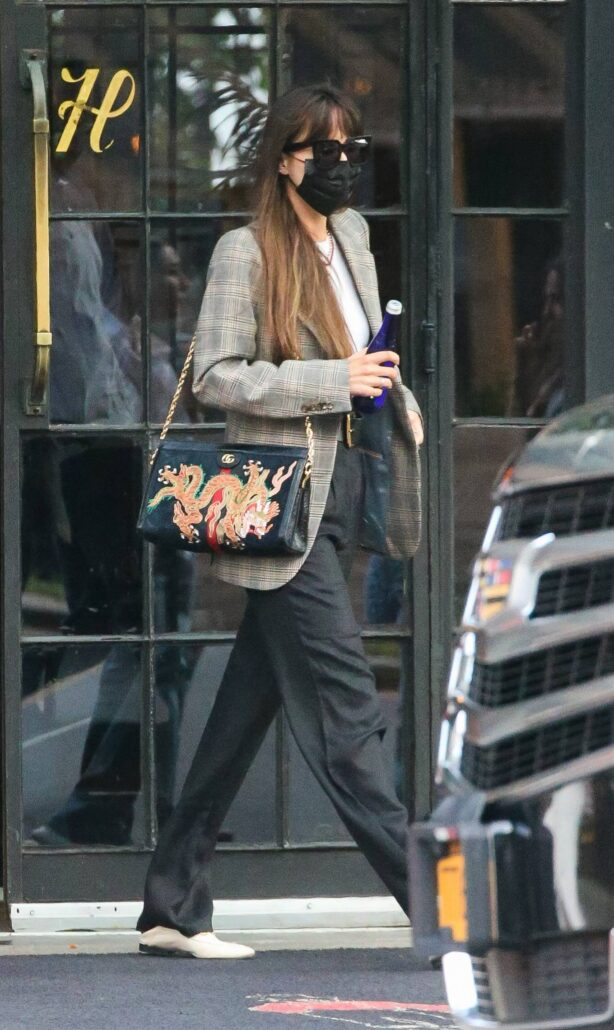 Dakota Johnson - Out and about in New York City