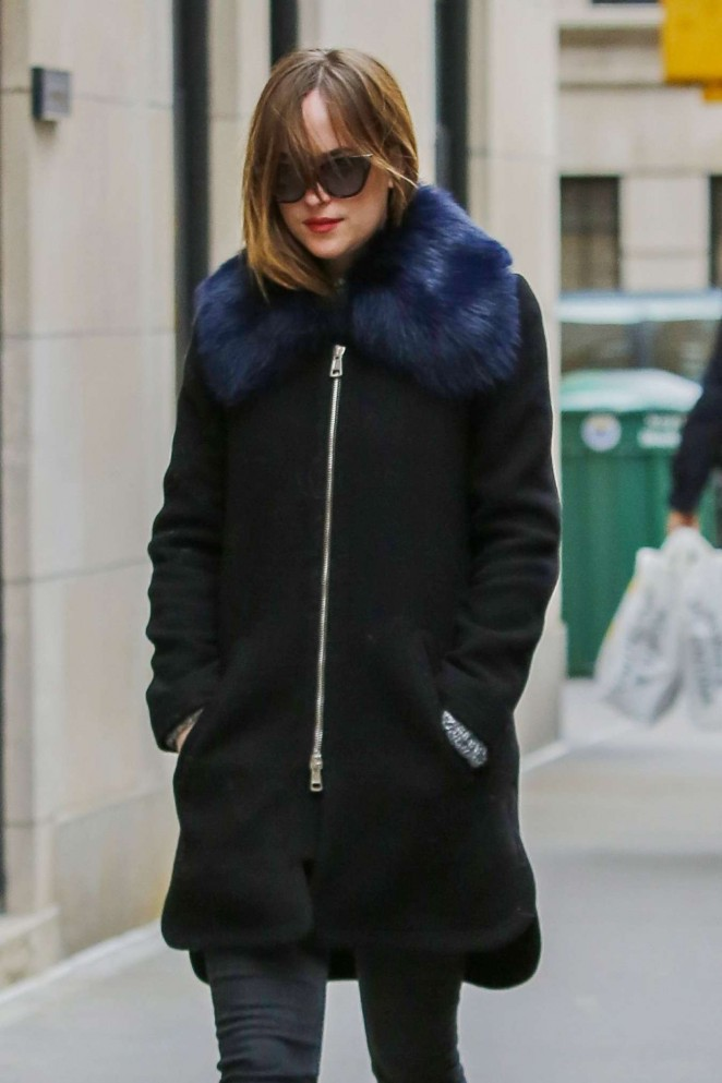 Dakota Johnson - Out and about in New York