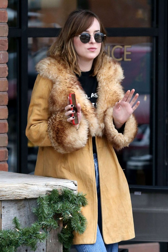 Dakota Johnson - Out in Aspen