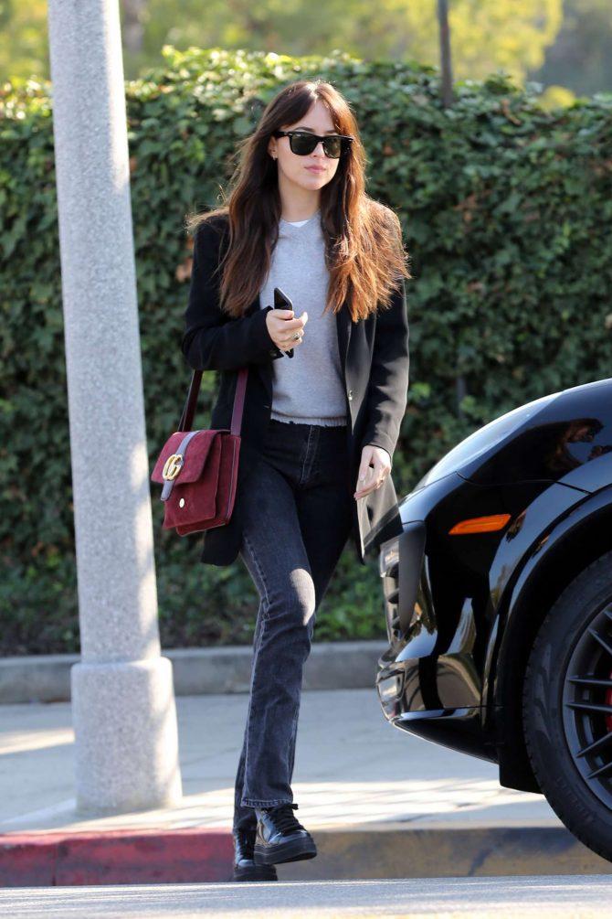 Dakota Johnson: Out in Beverly Hills -01