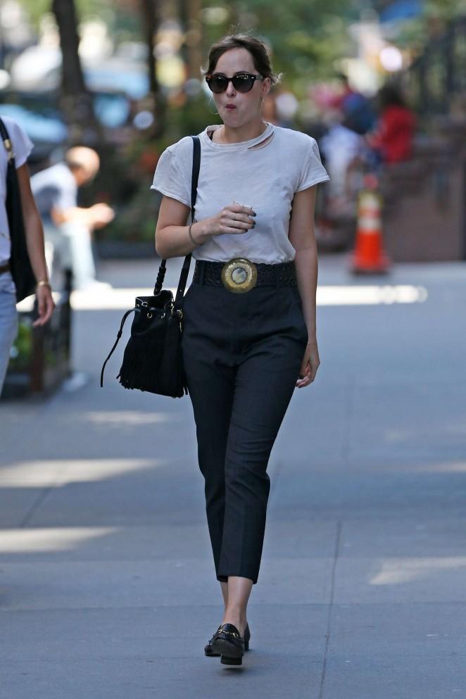 Dakota Johnson - Out in New York