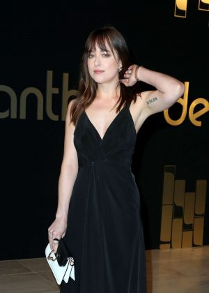 Dakota Johnson - 'Panthere de Cartier' Watch Launch in Los Angeles