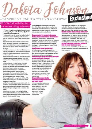Dakota Johnson - People South Africa Magazine (January 20180