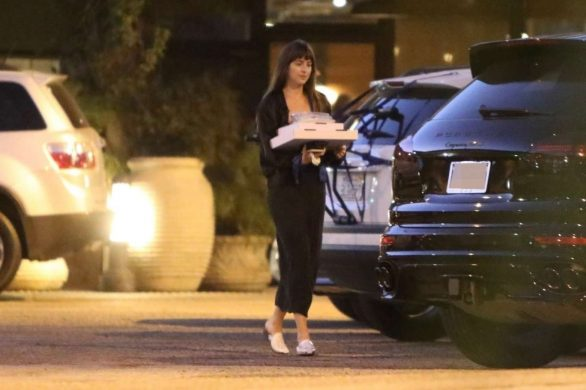Dakota Johnson 2019 : Dakota Johnson – Picks up dinner in Malibu-02
