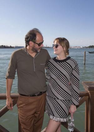 Dakota Johnson - Promoting 'A Bigger Splash' in Venice