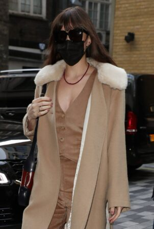 Dakota Johnson - promoting 'The Lost Daughter' in London
