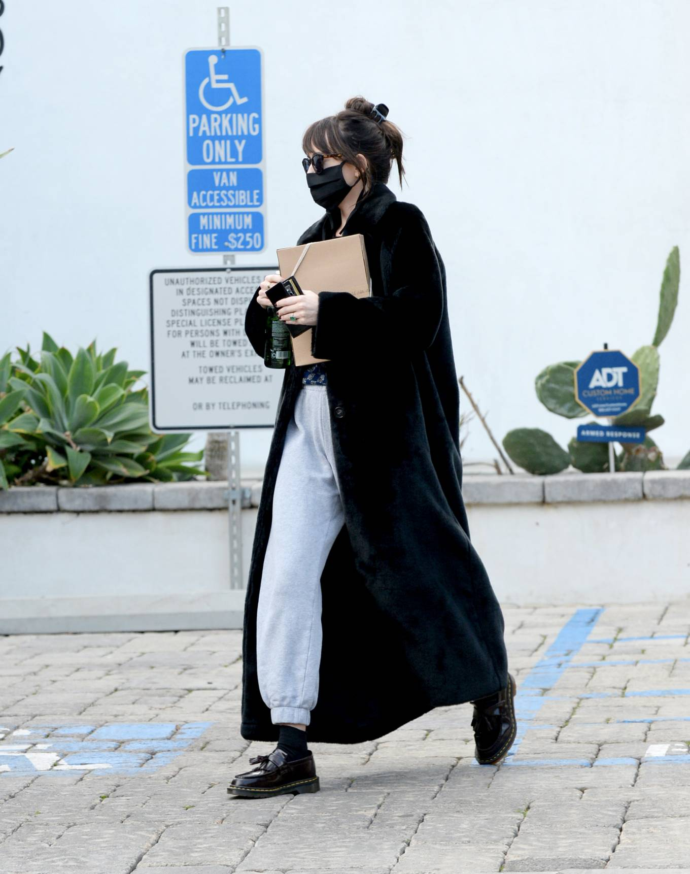 Dakota Johnson - Seen at The Elder Statesman in West Hollywood