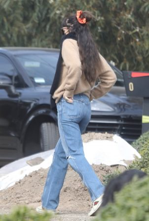 Dakota Johnson - Seen Leaving her new $12.5 million home in Malibu