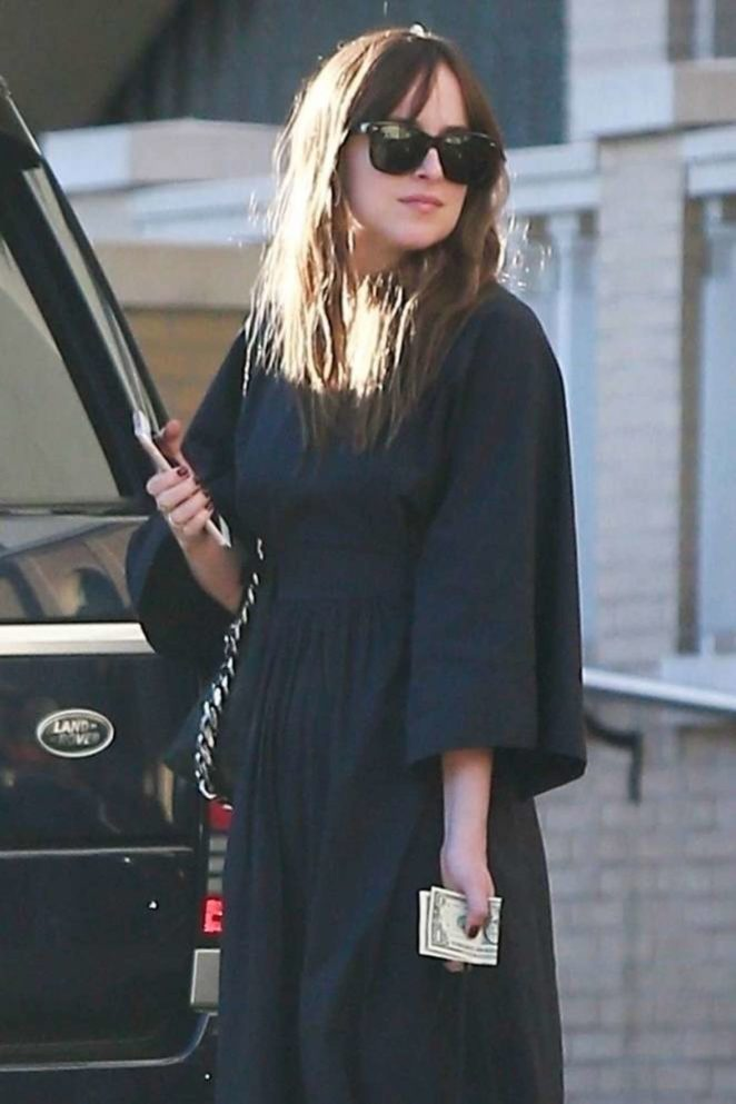 Dakota Johnson - Shopping at Barney's in Beverly Hills