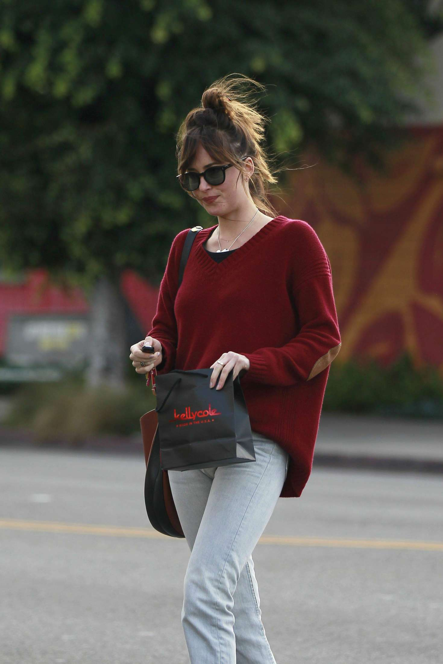 Dakota Johnson - Shopping at Kelly Cole in Los Angeles