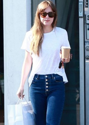Dakota Johnson - Shopping in West Hollywood