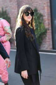 Dakota Johnson - Spotted at Gucci Fall-Winter 2020-2021 Fashion Show in Milan