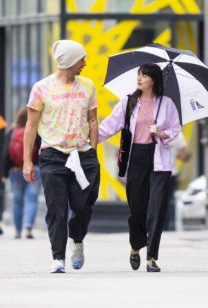 Dakota Johnson - Steps out in New York