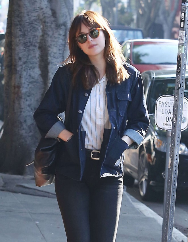 Dakota Johnson Style  – Out and about in Los Angeles