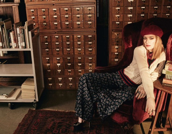 Dakota Johnson: The Edit Magazine Photoshoot 2016 -07