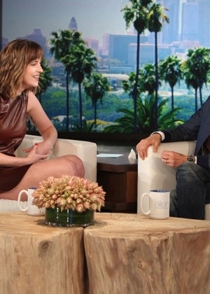 Dakota Johnson - The Ellen DeGeneres Show