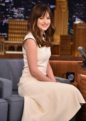 Dakota Johnson - The Tonight Show With Jimmy Fallon in NYC
