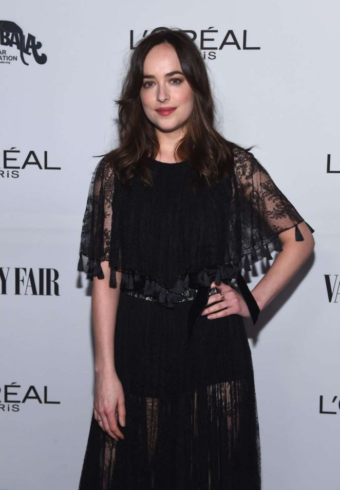 Dakota Johnson - Vanity Fair and L'Oreal Paris Toast to Young Hollywood in West Hollywood