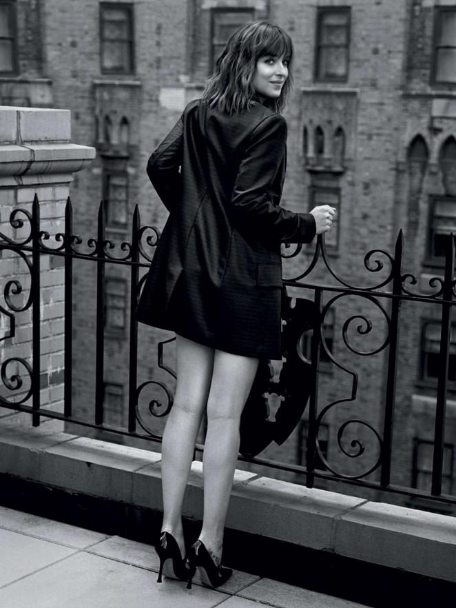Dakota Johnson - Vogue UK (February 2016)