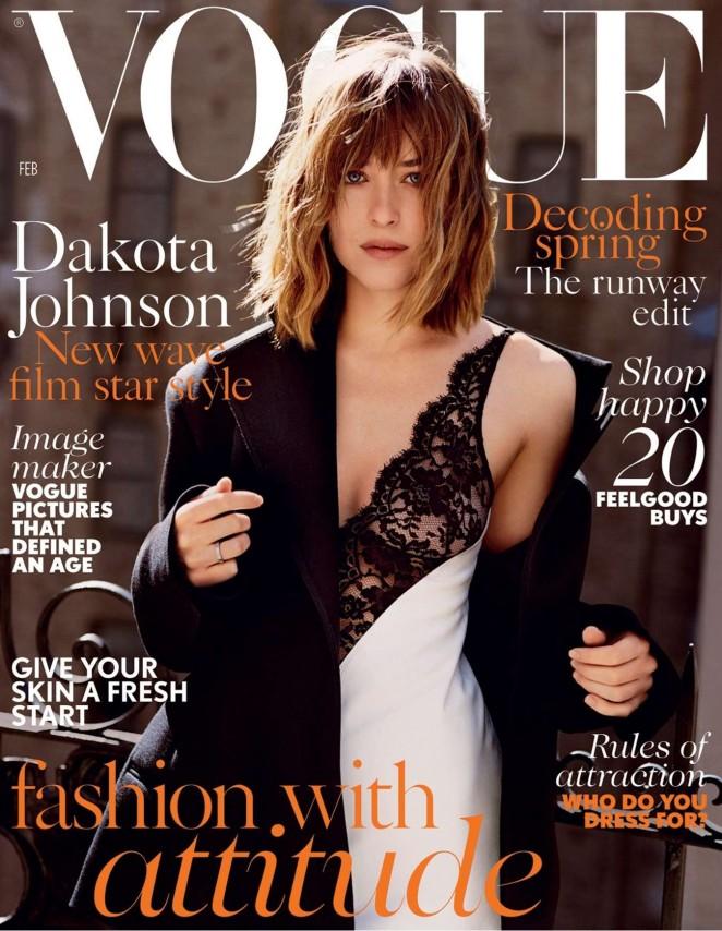 Dakota Johnson - Vogue UK Magazine (February 2016)
