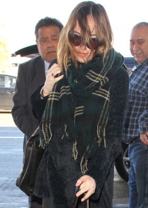 Dakota Johnson Walking her Dog in LA