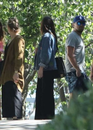 Dakota Johnson With Leonardo Dicaprio out in Malibu