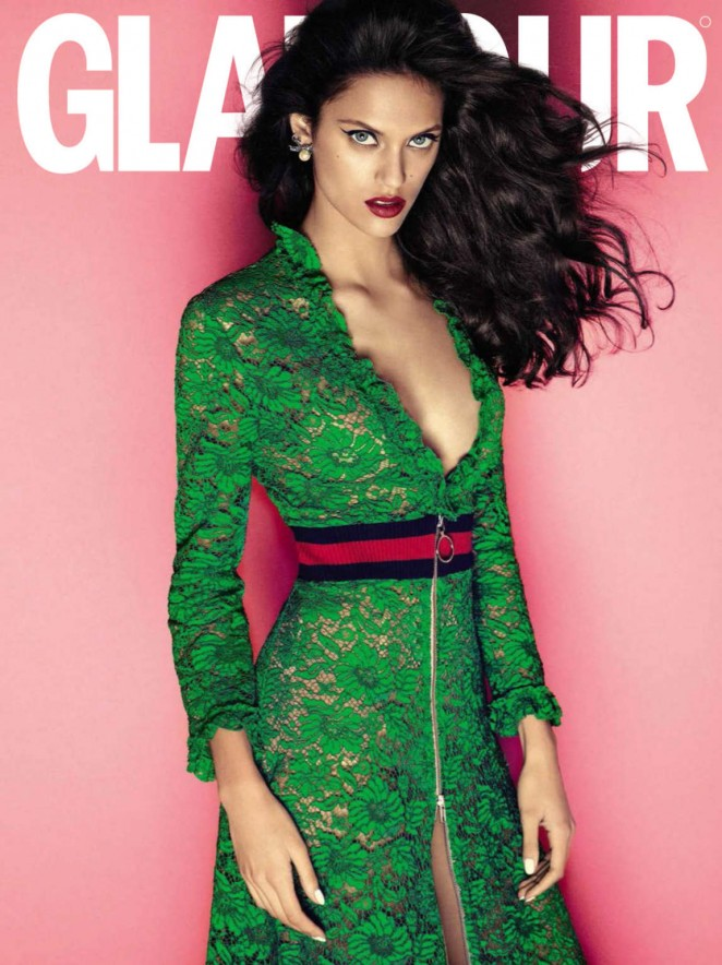 Dalianah Arekion - Glamour Spain Magazine (February 2016)