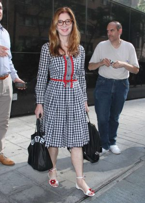 Dana Delany at Good Day New York in NYC