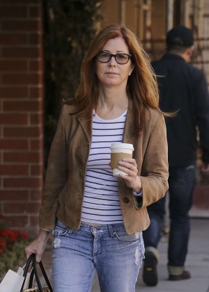 Dana Delany in Jeana Out in Beverly Hills
